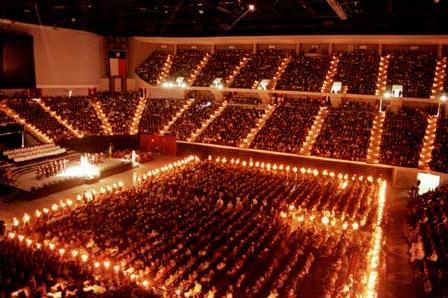 texas aggies. Pictured is Texas Aggie Muster